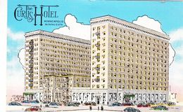 Cp , ÉTATS-UNIS , MINNEAPOLIS , The Curtis Hotel , Largest In Northwest - Minneapolis