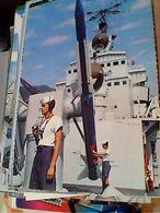 NAVE SHIP  WARSHIP MARINA MILITARE LANCIAMISSILI ESERCITAZIONE MISSILISTICA N1975 GN21656 - Guerra