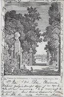 SEINE Et MARNE-Château De Fontainebleau Les 12 Césars Jardin Anglais-MO - Fontainebleau