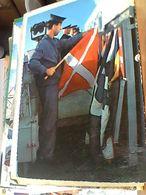 MARINAI NAVE MILITARE SHIP Segnalatore Di Servizio Alla Stazione Segnali N1965 GN21660 - Manovre