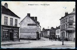 N:257   Fruges  Place De ' Eglise - Fruges