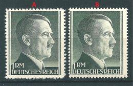 MiNr. 799 A+B ** - Duitsland