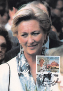 Carte Maximum - Timbre N° 2237 - La Reine Paola De Belgique (Paola Ruffo Di Calabria) - Maximum Cards