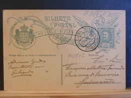 74/802   CP  PORTUGAL 1909 - Entiers Postaux