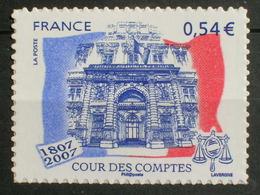 Adhésif 117 (4028A) - Paire Cour Des Comptes (2007) Neuf** - Adhesive Stamps