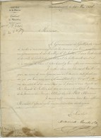 Turquie . Lettre Du 20 Mai 1856 Signée Mehmed Rushdi Pasha Futur Grand Vizir Au Commandant De La Presquîle De Gallipoli - Autographes