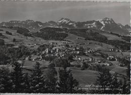 Trogen Mit Altmann Und Säntis - Photo: Rud. Suter - AR Appenzell Rhodes-Extérieures