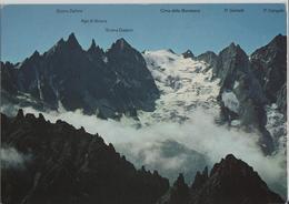 Sciora-Gruppe Mit Bondasca-Gletscher Bergeller Alpen - Photo: Furter - GR Grisons