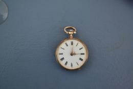 Montre à Gousset Plaquée OR Diamètre 30 Mm - Watches: Bracket