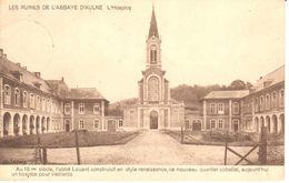 Montigny-le-tilleyul - CPA - Ruine De L'Abbaye D'Aulne - L'Hospice - Montigny-le-Tilleul