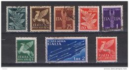 REGNO:  1930/32  P.A. ALLEGORIE  -  S. CPL. 8  VAL. US. -  SASS. 10/17 - 1900-44 Victor Emmanuel III