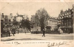 PARIS LE MUSEE DE CLUNY ET LE NOUVEAU SQUARE - Musea