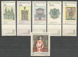 Czechoslovakia,New In Prague 1968.,MNH - Ungebraucht