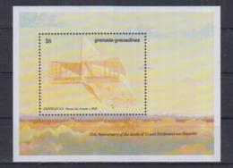 Y61. MNH Grenada Aviation Zeppelin Ferdinand Von Zeppelin - Zeppelins