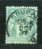 Frankreich Nr.59 II           O  Used       (1054) - 1876-1898 Sage (Type II)