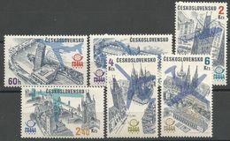 Czechoslovakia,Philatelic Exhibition 1976.,MNH - Czechoslovakia