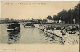 LIEGE - La Meuse : Vue Sur La Meuse Pris Du Pont De Val Benoît - Liege