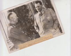 Photo Presse Goering  1941 - Guerra, Militari