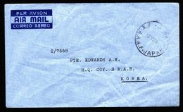 A5151) Australia Fieldpost From Japan R.A.A.F. To Korea 1945 - Dienstpost