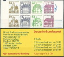 DEUTSCHLAND 1980 Mi-Nr. MH 23 D Markenheft/booklet ** MNH - Carnets