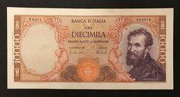 10000 Lire Michelanglo Buonarroti 27 11 1973 Bb/spl   LOTTO 434 - [ 2] 1946-… : Républic