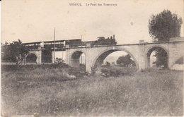 """1916  Vesoul  """" Le Pont Du Tramway  """" - Vesoul"""