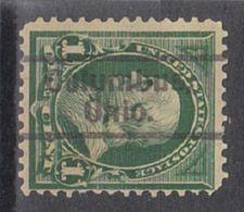 USA Precancel Vorausentwertung Preo, Locals Ohio, Columbus L-2 E, Perf. 12x12 - Vereinigte Staaten