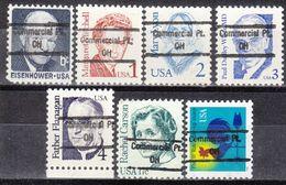 USA Precancel Vorausentwertung Preo, Locals Ohio, Commercial Point 848, 7 Diff. - Vereinigte Staaten