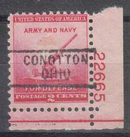 USA Precancel Vorausentwertung Preo, Locals Ohio, Conneaut 729, Plate# - Vereinigte Staaten