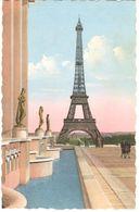 POSTALES   PARIS  - FRANCIA    -LA TORRE EIFFEL  (LA TOUR EIFFEL) - Tour Eiffel