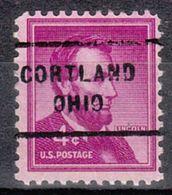 USA Precancel Vorausentwertung Preo, Locals Ohio, Cortland 712 - Vereinigte Staaten