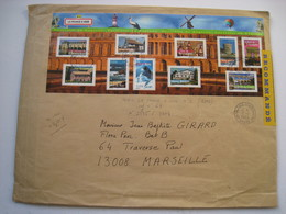 1 Lr Grand Format  Avec B F N°61 (2003)  Avec  N° 3595 à 3604...+ 0.15 Euros Au Verso.....le 19/11/2003..... à Voir..... - 1961-....