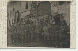 """AK """"Gruppe Vor Kantine"""" - Weltkrieg 1914-18"""