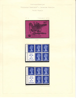 GROOT-BRITTANNIË - Michel - 1971 - Nr  566 C/R Type III (H-BLATT 68) - MNH** - Carnets