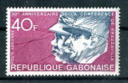 Thème Général De Gaulle - Gabon Yvert PA 145- Neuf Avec TC à 20% De La Cote - Lot 112 - De Gaulle (General)