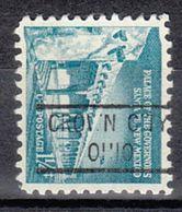USA Precancel Vorausentwertung Preo, Locals Ohio, Crown City 821 - Vereinigte Staaten