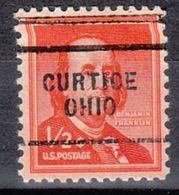 USA Precancel Vorausentwertung Preo, Locals Ohio, Curtice 703 - Vereinigte Staaten