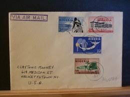 74/849  LETTER 1961   TO USA - Nigeria (1961-...)