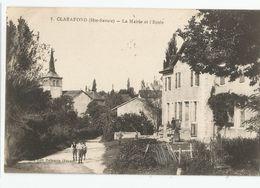 74 Haute Savoie Clarafond La Mairie Et L'école 1930 - France