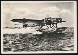 AK/CP  Unsere Wehrmacht   Heinkel 115  Luftwaffe  2. WK  WW    Ungel./uncirc.  1933-45      Erhaltung/Cond. 2  Nr. 00249 - Guerra 1939-45