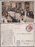 BEERSHEBA 1936 - Israel Palestine Mandate Postcard Of Jerusalem - En Nebi Musa Festivites - Palestine