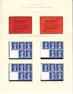 GROOT-BRITTANNIË - Michel - 1971 - Nr  566 C/R Type IIA + IIIA (H-BLATT 68) - MNH** - Carnets