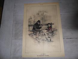 Document ( 271 ) Prent  Image ( Plié )  Illustrateur Poulbot 1919   ( 44 X 30 Cm ) - Zonder Classificatie