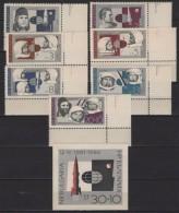 Bulgaria (1966) Yv. 1439/45 + Bf. 19  /  Espace - Space - Planet - Astronaut - Spaceship - Satellite - Space