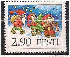 Estonia Eesti Estland 1997 Christmas: Santa Claus' Helpers Mi 313  MNH(**) - Estonie