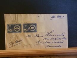 74/857 LETTER TO CANANDA 1956 - New-York - Siège De L'ONU