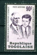 Thème Général De Gaulle - Togo Yvert PA 208 - Neuf Avec TC à 20% De La Cote - Lot 115 - De Gaulle (Général)