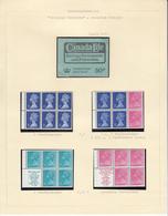GROOT-BRITTANNIË - Michel - 1971 - Nr  561 C/R + 565 C/R + 566C Type I + IIA (H-Blatt 65 + 67 + 69 + 70) - MNH** - Carnets