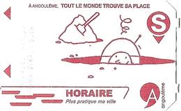 Ticket De Parking Horaire Souterrain Angoulême - Utilisé 27-01-2018 Parking Saint-Martial - (non Payé) - Autres