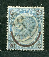 Italien Nr.25 I          O Used       (422) - 1861-78 Vittorio Emanuele II